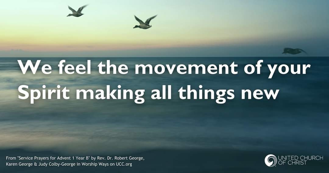 making all things new, ocean